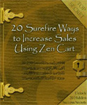 20 Ways to Increase Sales Using Zen Cart